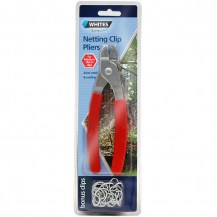 12405 - netting clip pliers - red handle